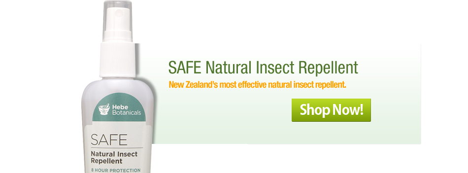 SAFE natural insect repellent